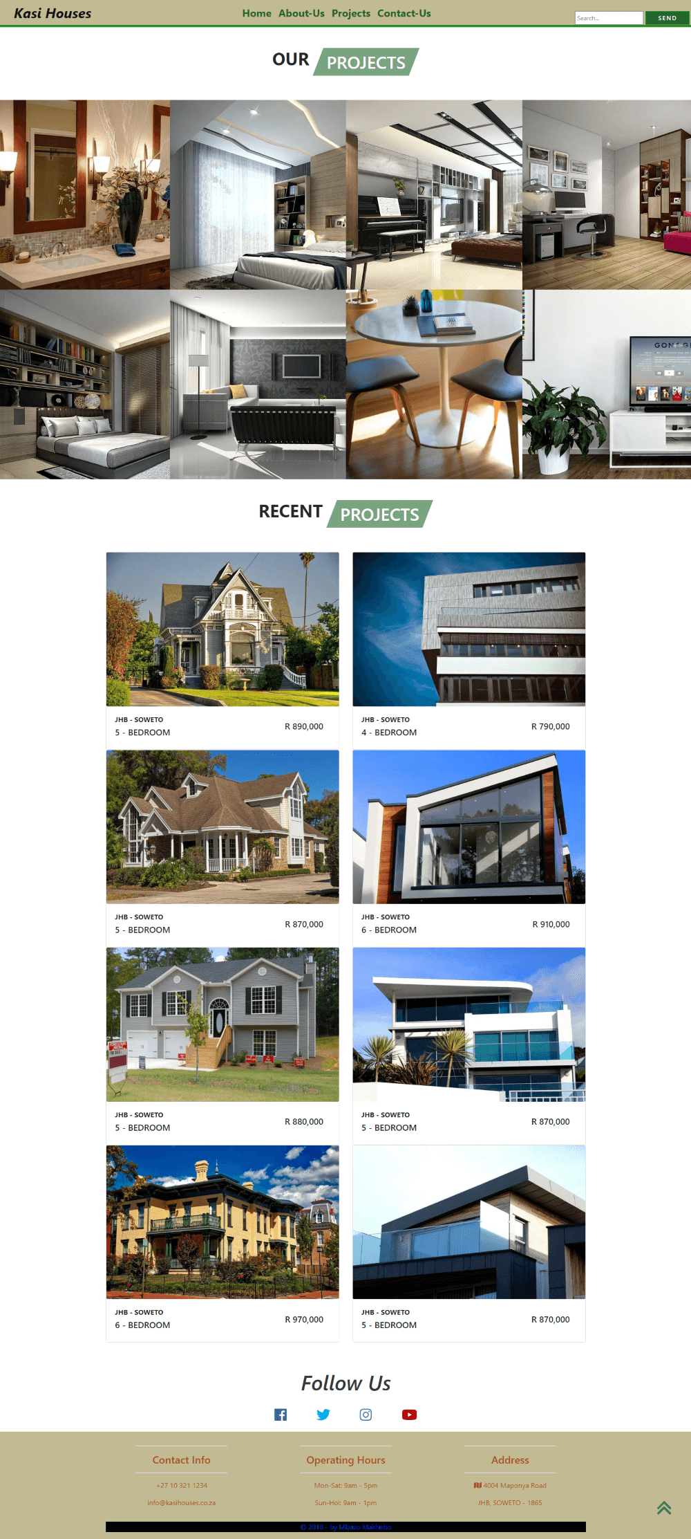 Property-Agency-Web Template Second-Page